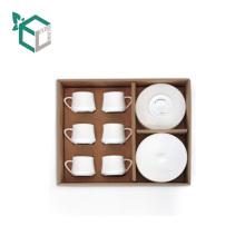 Роскошные Поставщик Alibaba Китай Картон Вторичной Переработки Кофе Кружки Набор Упаковки