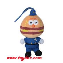 Plüsch Hamburger Puppe Schlüsselanhänger