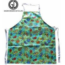 Vente en gros Polyester Cotton Colorful Waterproof Beetles Printing Apron
