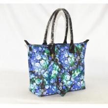 2016 Stylish High Quality Printed Woman Fashion PU Handbag