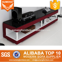 SUMENG foshan style new model wood tv stand furniture