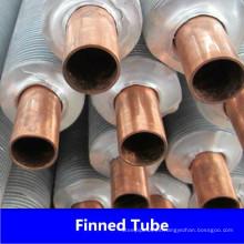 Tubo de aleta extruido de aluminio y cobre de China