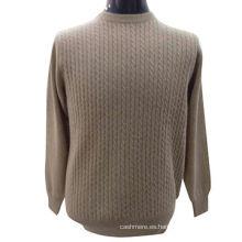 Último suéter de las señoras del diseño, suéter del jersey de punto de cachemira