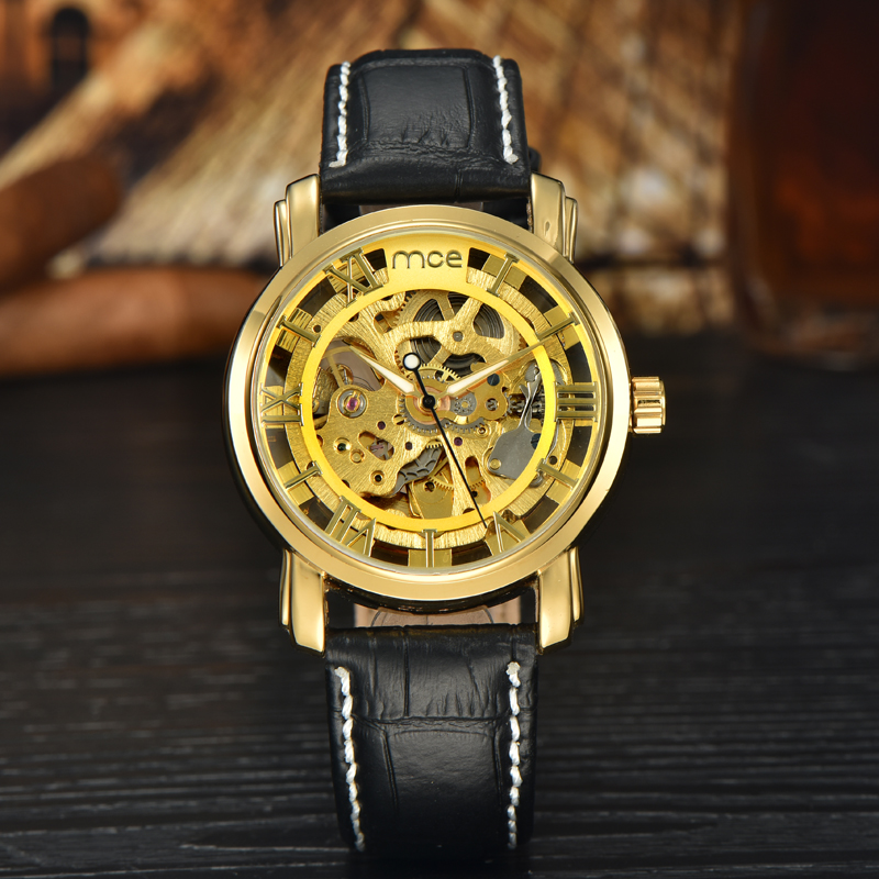 wholesale 3atm leather straps hollow watch women