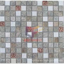Glass Mix Quartz Stone Mosaic (CFS817)