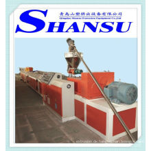Holz Kunststoff Profil Produktionsmaschine (PE / PVC + Holzpulver)
