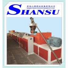 Machine en plastique de production de profil de profil (PE / PVC + poudre en bois)