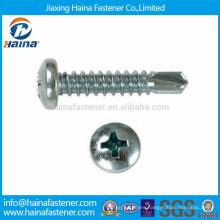 DIN7504 Pan Head Phillips Drive Self Drilling Screws
