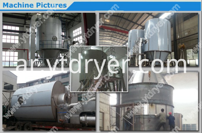 Diethyl phenyl urea spray dryer