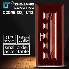 Puertas de acero estilo Elegent de alta calidad y exportación estándar