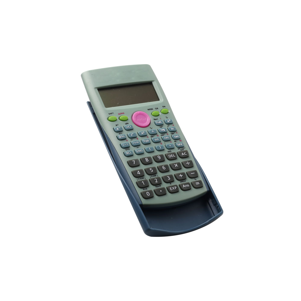 10 Digits  2 Line Displayed Students Scientific Calculator