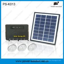 Sistema Solar de 3 bulbos con teléfonos móviles de carga USB