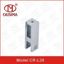 Conector para porta de vidro