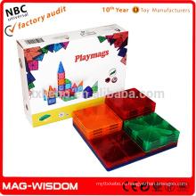 Игровые приставки Новые магнитные блоки для строительных блоков 3D-игрушки для разведки 14шт.