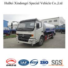 Camión de riego del tanque de agua de la succión de 9ton 8cbm Dongfeng Euro 3 Selft