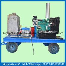 Industrial de alta pressão, limpeza de tanque de combustível Diesel Blaster máquina de limpeza