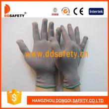 Grey Nylon Anti Static Gloves Dch128