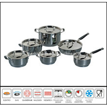 Hot Selling Stainless Steel 12PCS Kitchenware