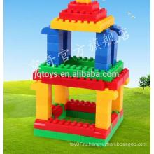 Пластмассовый строительный кирпич для производства детских машин