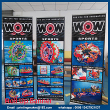 85x200cm Lyxig Aluminium Retractable Banners
