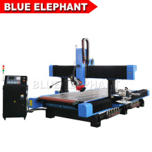 1540 4 Axis Engraving Machine for Working Wooden Sofa Bed Frame