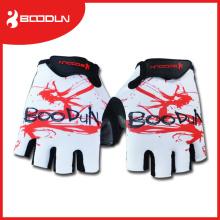 Gants de vélo Boodun avec gant de mousse absorbant les chocs Gants de vélo à moitié droable respirables Gant de vélo