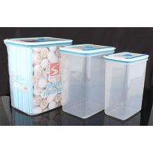 3PCS Set plástico recipiente de armazenamento de alimentos (LFR3519)