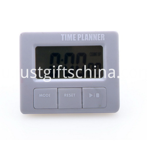 Promotional Plastic Square Shaped Timer with Holder_6