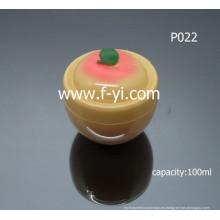 100ml Cute Fruit forma vacía cosméticos tarros