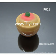 100ml Cute Fruit Shape Empty Cosmetic Jars