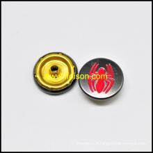 Bouton-pression avec logo Spider