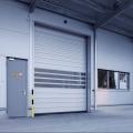 Industrial Aluminum Alloy Simple Hard Fast Door