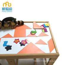 Tableaux blancs d'écriture de bureau de bébé magnétique d'enfant