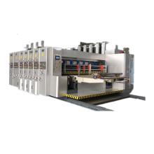 high speed printer slotter flexo printing slotting die cutting machine price