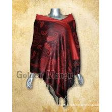 Mantón de moda de pashmina del diseño de Paisley