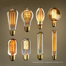 Edison Vintage Squirrel Cage Filament Light Bulb
