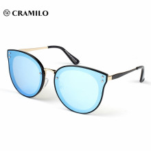 Latest new model sunglasses blue mirror sunglasses