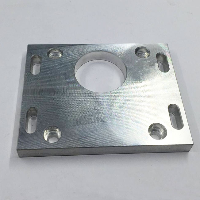 cross hole machining