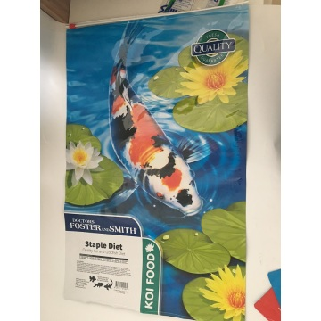 Koi Food Custom Packaging Bag