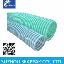 Mangueira espiral de PVC com costelas de plástico