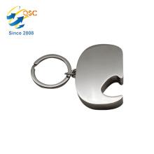 Cheap personalized custom blank key chain metal opener bottle