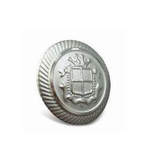 Kundenspezifischer Knopf, Silber überzogener Metallknopf (GZHY-KA-091)