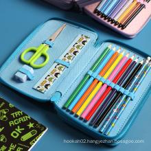 Back To School Supplies Cartoon Kawaii Student Children Unicorn Cute Art Pencil Case Kit Kids Stationery Gift Set