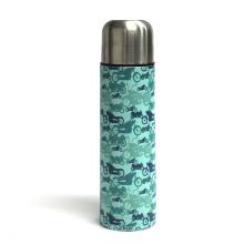 Stainless steel bullet vacuum flask cup thermal bottle