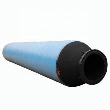 Manguera flotante de descarga de goma flexible para dragado