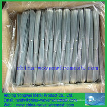 Hot sale hot dipped / electro galvanized flat iron wire (alibaba china)
