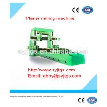 Usado cnc fresadora de plaina preço oferecido pela fabricação de fresadora portátil