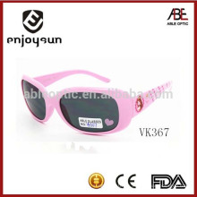 El color rosado embroma las gafas de sol plásticas Alibaba al por mayor