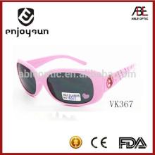 Couleur rose enfants lunettes de soleil en plastique gros Alibaba