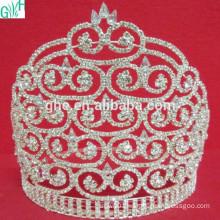 Big fashion diamond crown beauty pageant